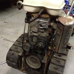 除雪機修理