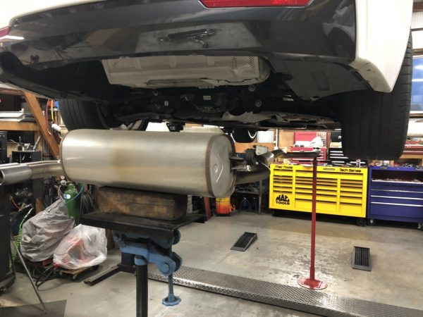 【ARQRAY】マフラー+ディフューザー交換 BMW 428i