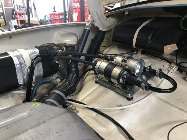 VW MexicoBeetle フューエルポンプ新規製作・移設